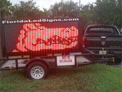 LED Mobile Sign Rentals